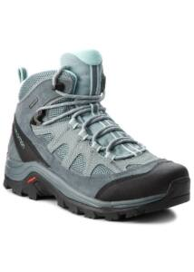SALOMON AUTHENTIC LTR GTX NŐI TÚRABAKANCS Lead/Stormy Weather/Eggshell Blue