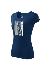SANDSTONE WOMEN'S HERITAGE T-SHIRT TEAMWORK NIGHT BLUE