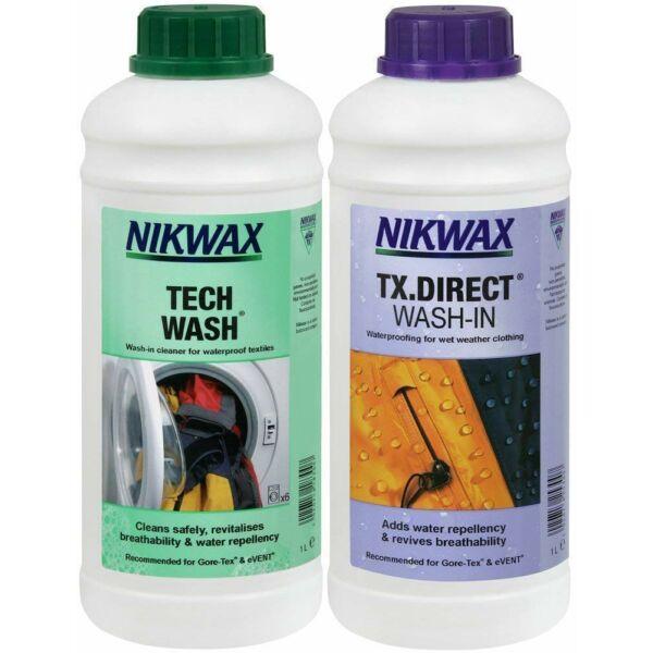 NIKWAX TWIN TECH WASH/TX.DIRECT WASH IN 1000 ML     