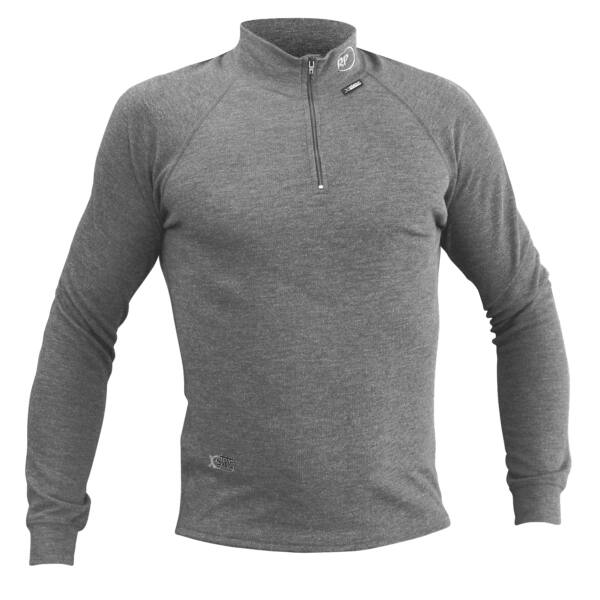RP OUTDOOR UNDER X-STATIC ZIP PULLI