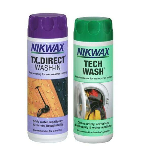 NIKWAX TWIN TECH WASH/TX.DIRECT WASH IN 300 ML |  |