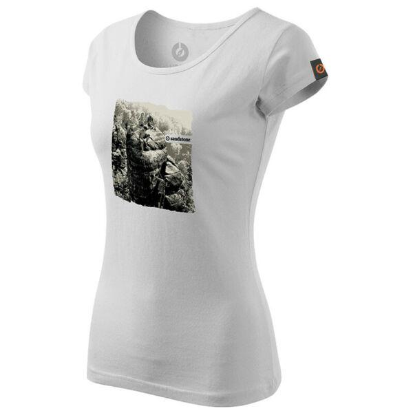 SANDSTONE WOMEN'S HERITAGE T-SHIRT SUMMIT WHITE